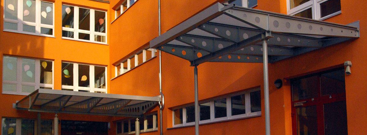Überdachung Förderschule Strausberg
